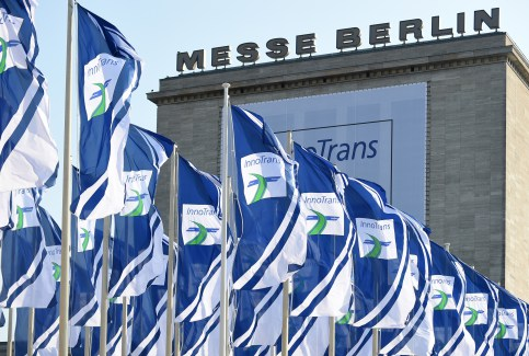 InnoTrans 2016 will take place from 20th to 23rd of September in Berlin, Germany. Image Source: InnoTrans