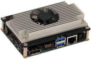 Kontron's pITX-E38 PICO-ITX board used by the students to process and analyze driving data.