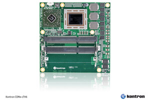Kontron introduces powerful COM Express® compact Computer-on-Modules for cost-effective development of graphics-intensive, small form factor applications